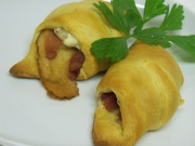 Bacon Stuffed Cresent Rolls
