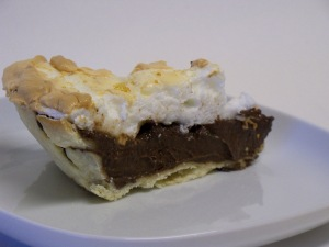 Chocolaty Chocolate Cream Pie